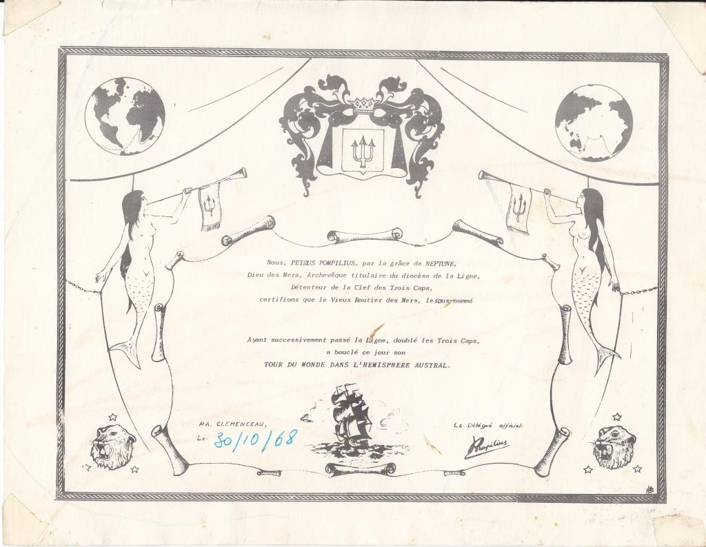 [ Les traditions dans la Marine ] Les diplômes de la Ligne - Page 3 Img_0265