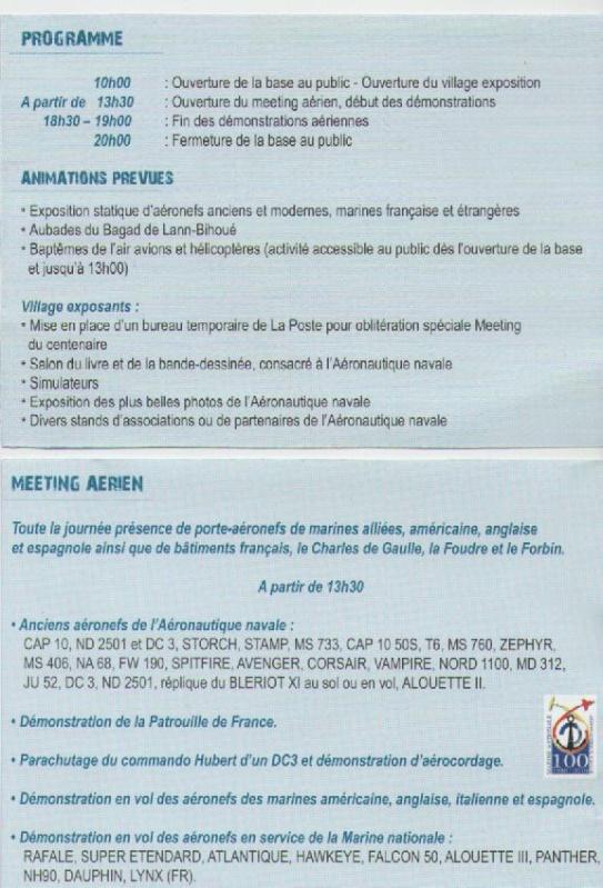100 ème anniversaire de l'Aéronautique navale - Page 2 Meetin11