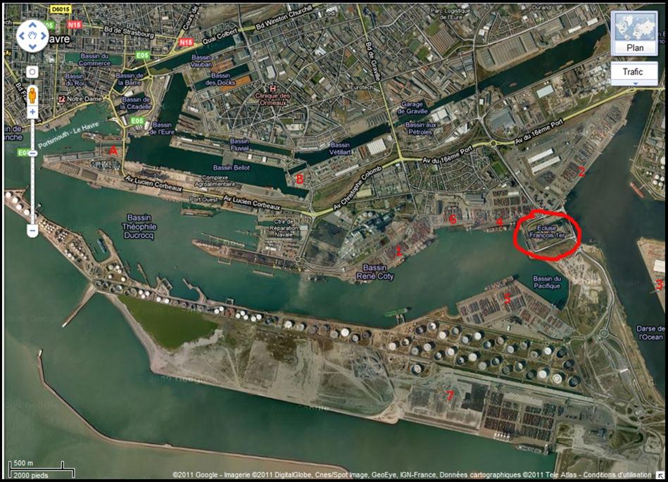 Le port du Havre Plan_p11