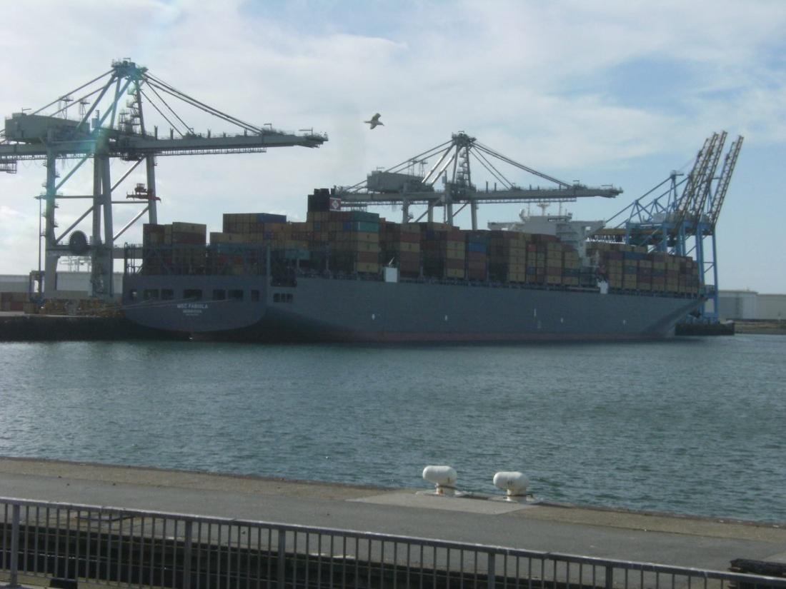 Le port du Havre Dscf6110