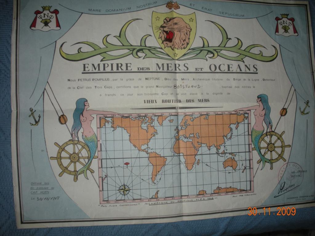 [ Les traditions dans la Marine ] Les diplômes de la Ligne - Page 3 Les_v310