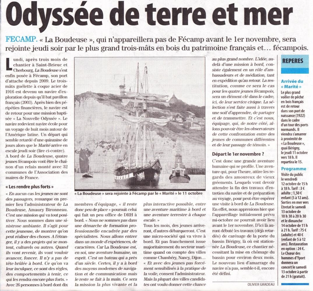 [Vie des ports] FÉCAMP - Page 2 Marite10