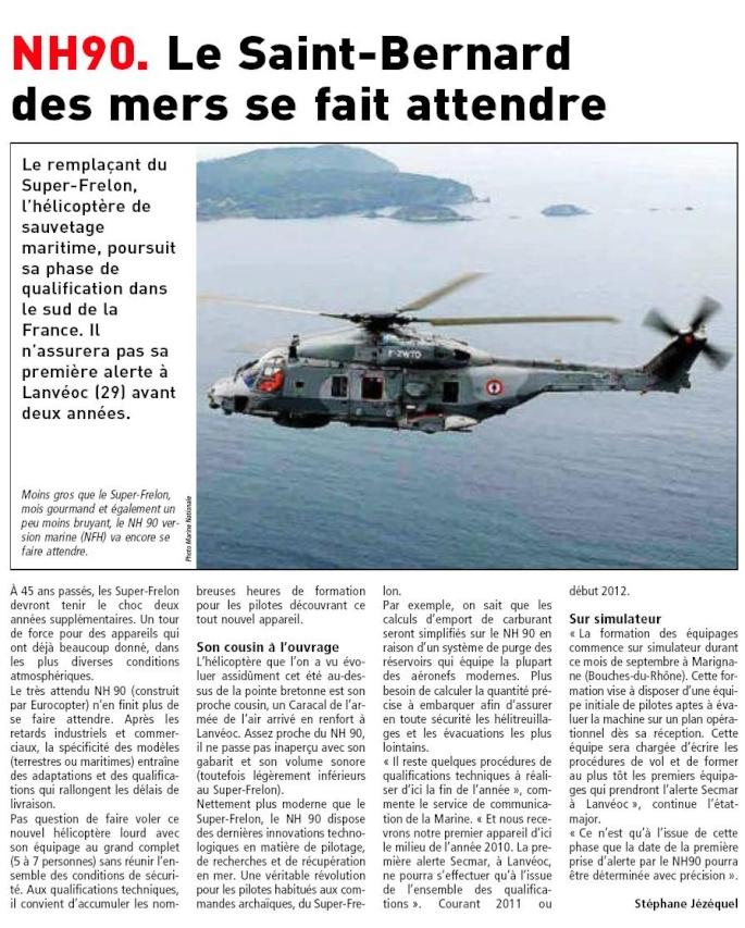 [Aéronavale divers] Hélico NH90 Nh9010
